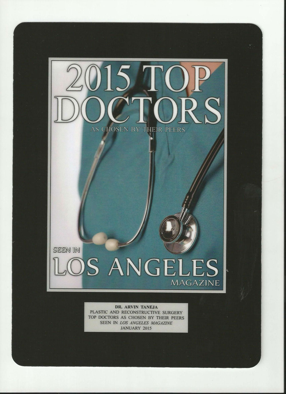 2015 Top Doctors LA – Dr. Taneja | My Look
