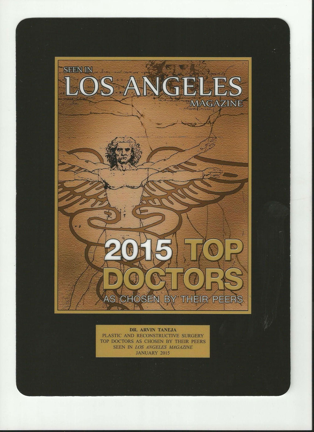 My Look - Dr. Taneja | 2015 Top Doctors LA Magazine
