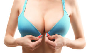 breast augmentation Orange County after saline implant insertion surgery
